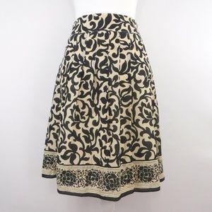 Ann Taylor Floral A Line Skirt Size 6  NWOT